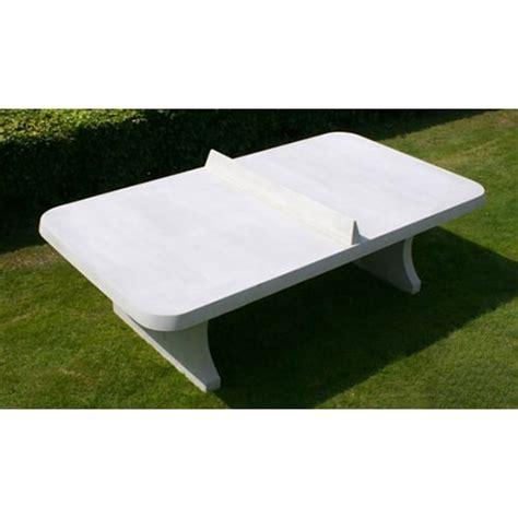 table ping pong angles arrondis exterieur beton partenaire collectivit 233