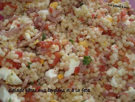 salade de p 226 tes feta jambon recette