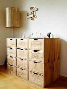 Weinregal Aus Weinkisten : hat schon was so ein regal aus alten weinkisten via wohnen pinterest ~ Markanthonyermac.com Haus und Dekorationen