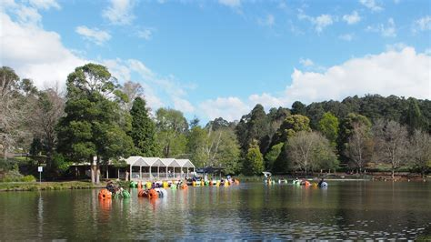 Pedal Boat Victoria by Emerald Lake Park Melbourne