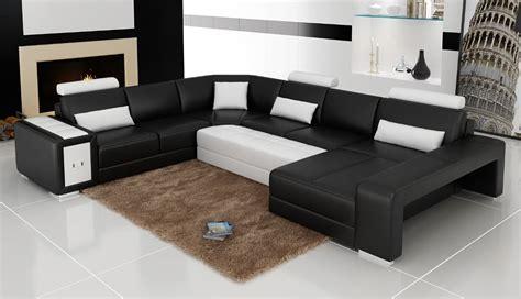 canape panoramique cuir salon modeno canape d angle