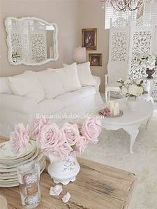 Shabby And Chic : 32 best shabby chic living room decor ideas and designs for 2018 ~ Markanthonyermac.com Haus und Dekorationen
