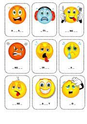 Feelings Flashcards 1