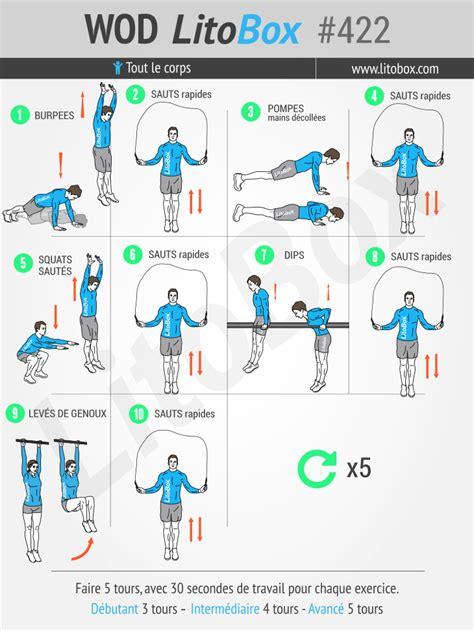 hiit en 25 minutes 12 exercices au poids du corps 422