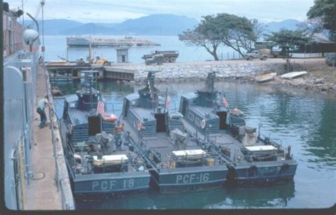 Swift Boat Specs by Danang Vietnam 1967 Naval Support Yr 71