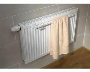 Handtuchhalter Für Flachheizkörper : handtuchhalter 94 cm weiss kaufen bei ~ Markanthonyermac.com Haus und Dekorationen