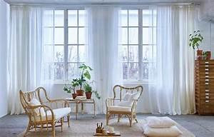 Welche Weiße Farbe Deckt Am Besten : gardinen ein ratgeber mit sch nen ideen sch ner wohnen ~ Markanthonyermac.com Haus und Dekorationen