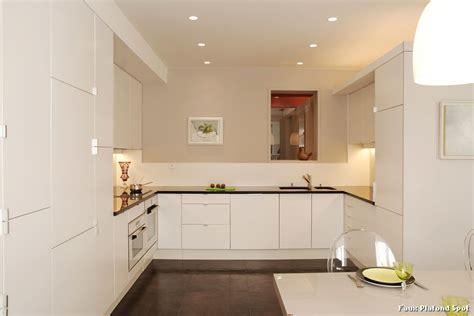 faux plafond spot with contemporain cuisine d 233 coration de la maison et des id 233 es de design d