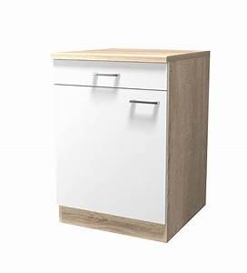 Unterschränke Küche Günstig : k chen unterschrank rom 1 t rig 60 cm breit gelb k che k chen unterschr nke ~ Markanthonyermac.com Haus und Dekorationen