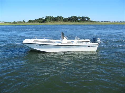 Jon Boats Wilmington Nc by Sea Mark 21 Skiff With A Yamaha Four Stroke Not Jones