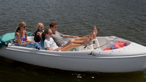 Pedal Boat Charlotte by 2 Nauticraft Pedal Electric Boats