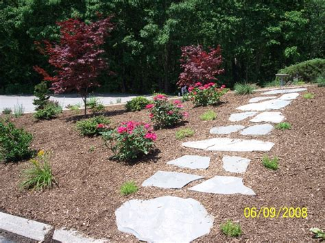 Walkway Installation Photos, Madecorative Landscapes Inc