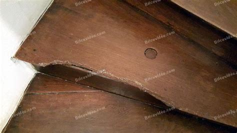 refaire des pieds de nez de marche d escalier ancien en bois