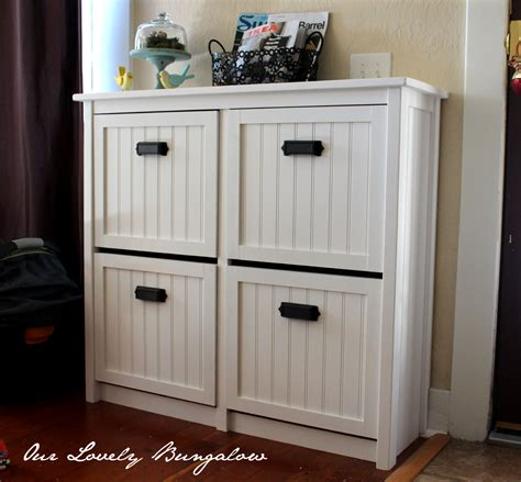 reving an ikea shoe cabinet