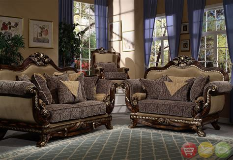 Victorian Inspired Formal Living Room Sets