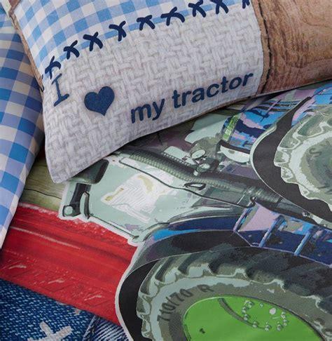 Luchtbed Overtrek by Dreamhouse Bedding For Kids Tractor Kinderdekbedovertrek