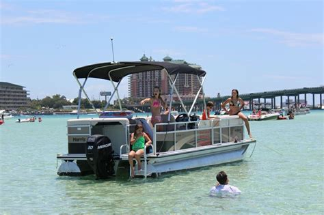 Destin Party Boat Rentals by 25 Beautiful Pontoon Boat Rentals Ideas On Pinterest