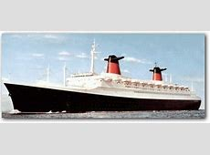Classic Liners and Cruise Ships SS France