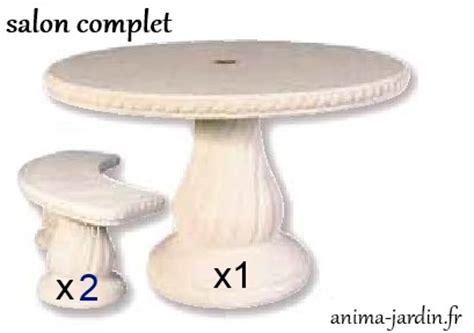 table en reconstitu 233 e ronde 120cm avec frise