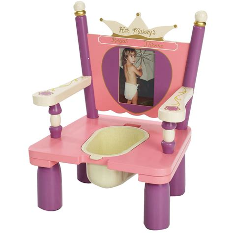 majesty s throne princess wooden potty chair potty concepts