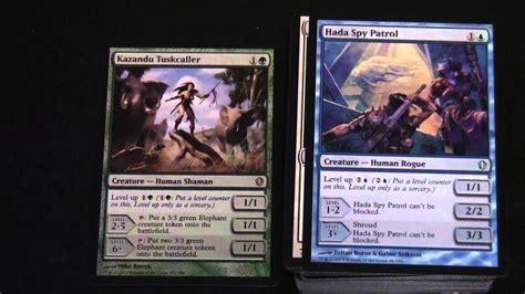 magic the gathering commander 2013 deck evasive