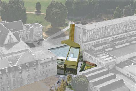 la salle passy buzenval rueil malmaison 92 scolaire projet architecte