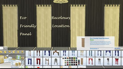 25 Eco Friendly Panel Recolours For Sims 4 Wood Door Curtain Pole Red And Cream Horizontal Striped Curtains One Window Ideas Orange Patterned Shower In Living Room Side Panel Sears Canada Blinds Making Out Of Cotton Fabric
