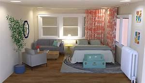 Flirty, Eclectic Studio Apartment Interior Design ...