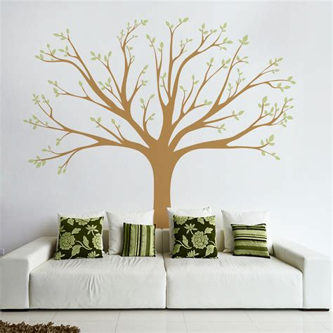 wall tree decals tree wall decal ebay with large photo