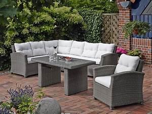 Loungemöbel Outdoor Ausverkauf : dreams4home lounge sidney gartenm bel mit polster inkl tisch loungem bel rattan garten ~ Markanthonyermac.com Haus und Dekorationen