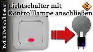 Lichtschalter Mit Dimmer : lichtschalter mit kontrolllampe anschlie en teil 2 youtube ~ Markanthonyermac.com Haus und Dekorationen