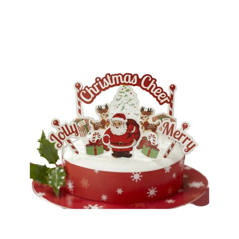 decorations de noel pour gateau