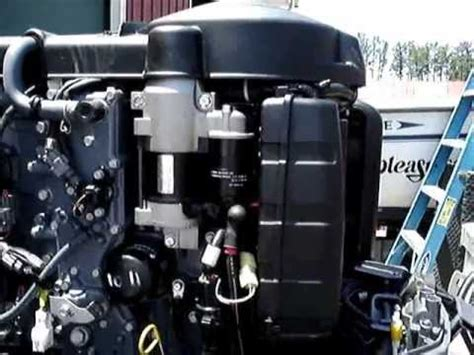 Yamaha Outboard Motor Videos by 2006 Fuel Injected Yamaha Outboard Motor Youtube