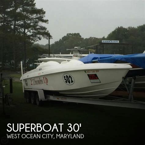 Speed Boat Ocean City Md by 2005 Superboat 30 Power Boat For Sale In Ocean City Md