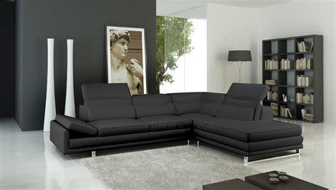photos canap 233 d angle cuir design italien