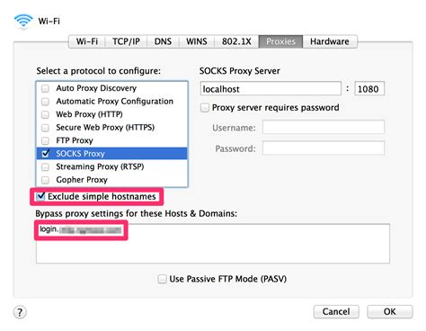 Ssh経由のsocksプロキシを通じてmac上のgoogle Chromeでブラウジング