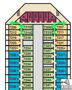 Carnival Splendor Deck Plans Printable by 1000 Ideas About Carnival Cruise Ships On