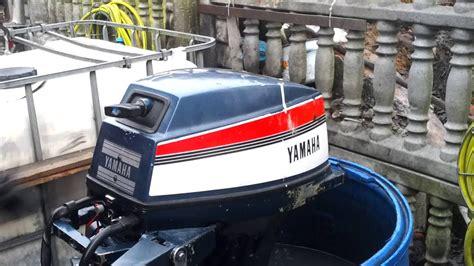 Yamaha Outboard Motor Videos by 1984 Yamaha 15 Hp Outboard Motor 2 Stroke Dwusuw Youtube