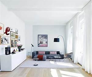 Jugendzimmer Wände Gestalten : wei e w nde f r kleine r ume bild 2 living at home ~ Markanthonyermac.com Haus und Dekorationen