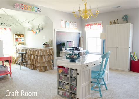 Craftaholics Anonymous®  Craft Room Tour