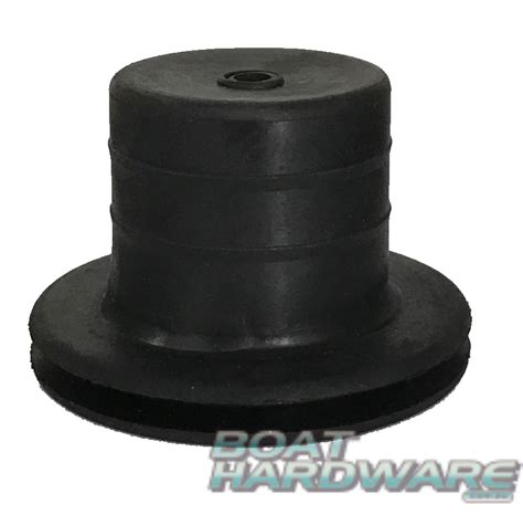 Round Rubber Boat black round rubber slop stop grommet for steering cable