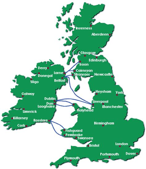 Ferry England To Ireland by Ferry Crossings To And From Ireland