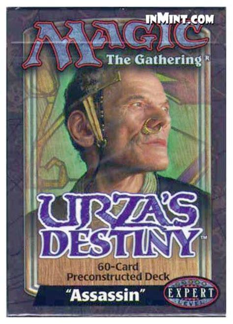 inmint magic urza s destiny assassin theme deck 60 cards magic the gathering