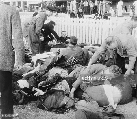 trying to help injured victims pictures getty images