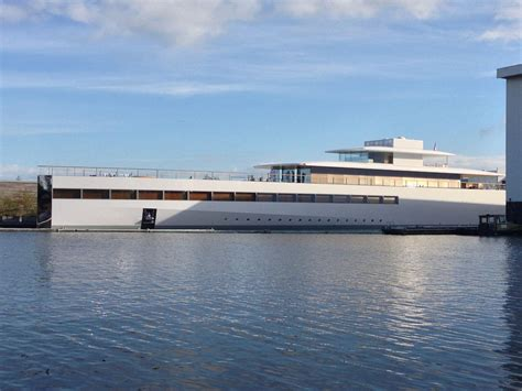 Steve Jobs Boat by Steve Jobs Venus Superyacht Unveiled In Netherlands