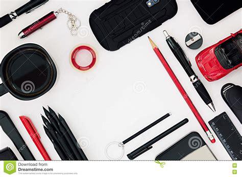 Monochrome Notebook Paper Writing Tools Stock Photo  Cartoondealercom #79091250