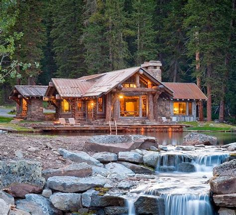 photo of small waterfront home plans ideas idyllic lakefront country house beautiful log homes designs