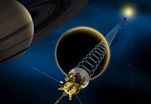 NASA Probe Flying by Huge Saturn Moon Titan Today