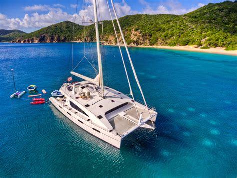 Zingara Catamaran For Sale by Zingara Crewed Catamaran Charter British Virgin Islands