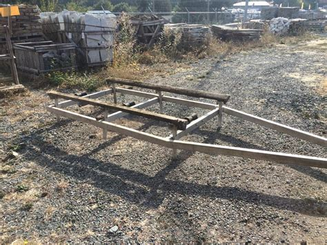 Boat Trailer Used Victoria by Aluminum Boat Trailer Outside Victoria Victoria